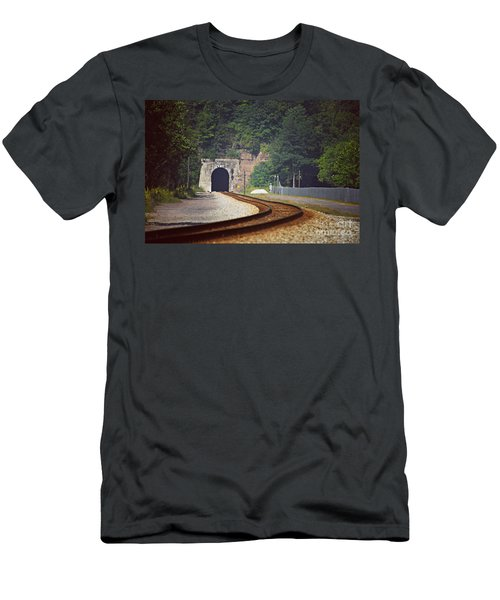 Big Bend Tunnel  Men's T-Shirt (Athletic Fit)