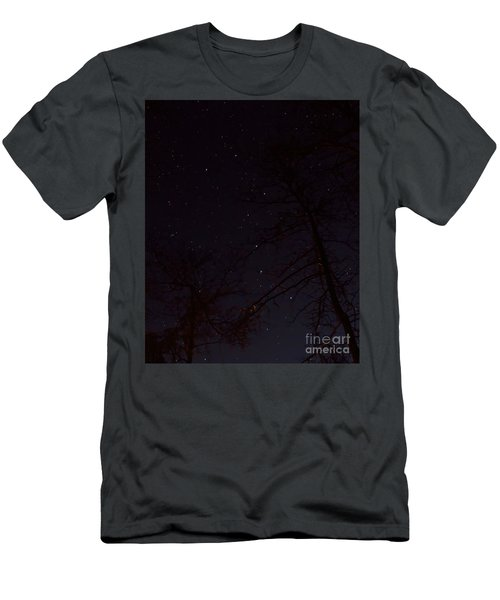 Big Dipper Men's T-Shirt (Slim Fit) by Barbara Bowen