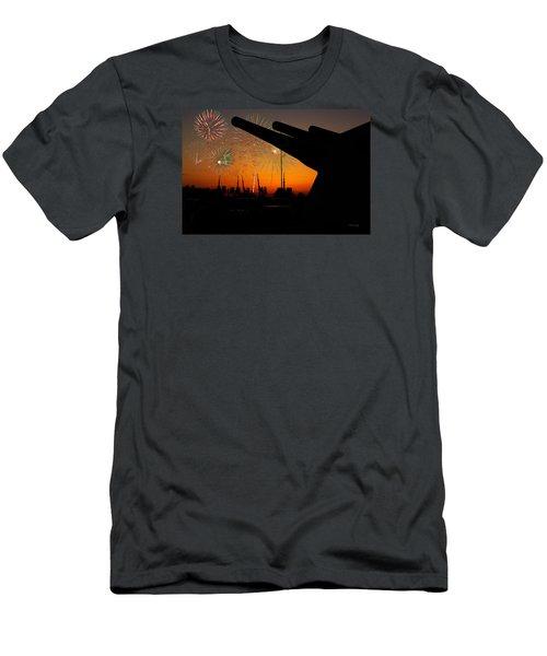 Big Guns Men's T-Shirt (Slim Fit) by Denis Lemay