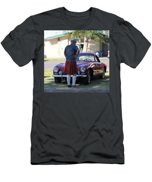 Big Man Little Car Men's T-Shirt (Athletic Fit)
