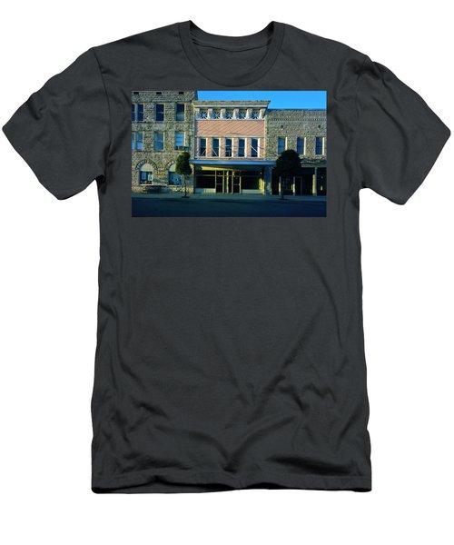 Big Pink, Corinth Men's T-Shirt (Slim Fit) by Jan W Faul