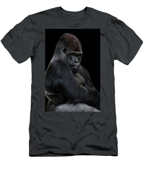 Big Silverback Men's T-Shirt (Athletic Fit)