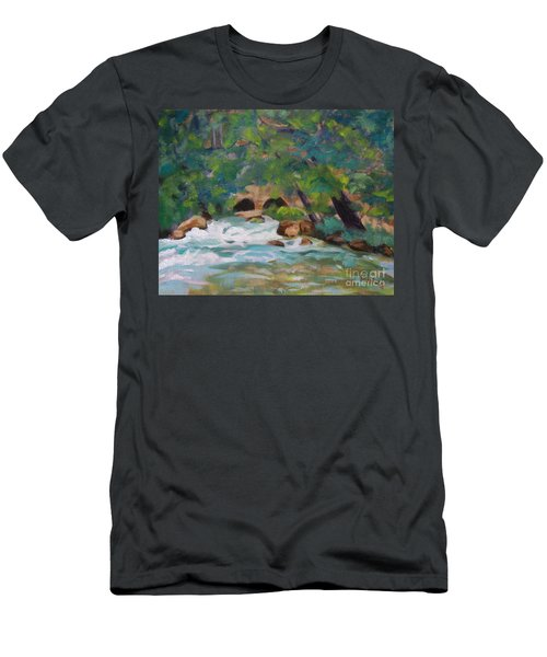 Big Spring On The Current River Men's T-Shirt (Athletic Fit)
