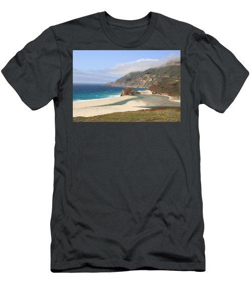 Big Sur Beach Men's T-Shirt (Athletic Fit)