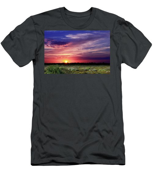 Big Texas Sky Men's T-Shirt (Athletic Fit)