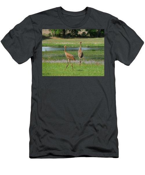Big World Men's T-Shirt (Athletic Fit)