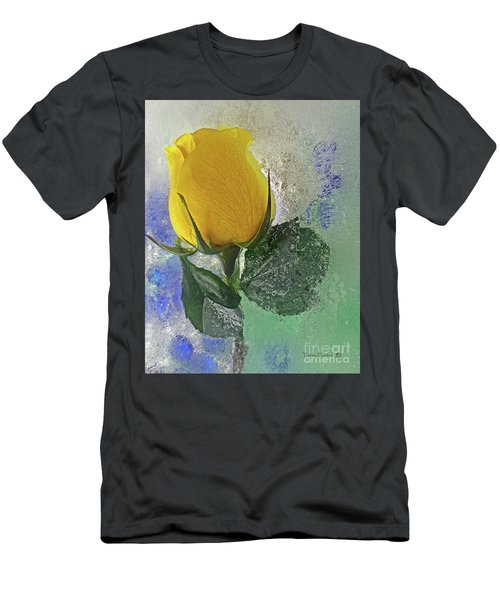 Big Yellow Men's T-Shirt (Slim Fit) by Terry Foster