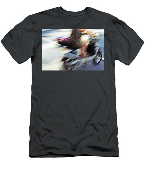Bike In Motion Men's T-Shirt (Athletic Fit)
