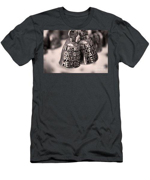 Biker Bells  Men's T-Shirt (Athletic Fit)