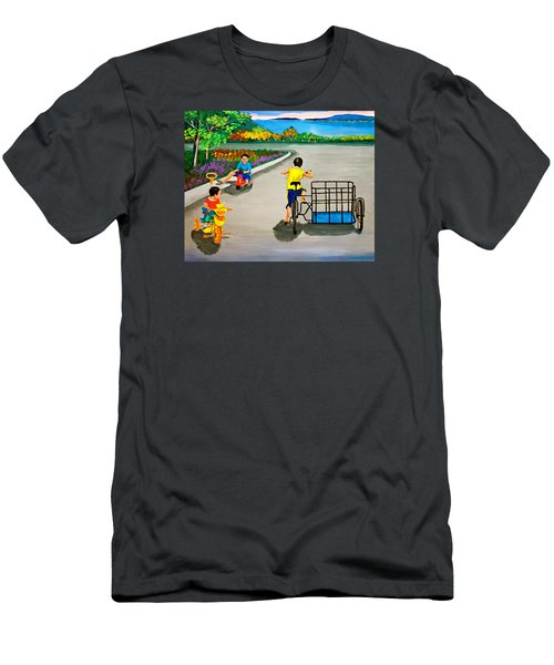 Bikes Men's T-Shirt (Athletic Fit)