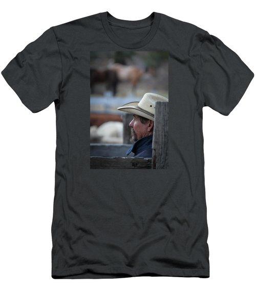 Bill Men's T-Shirt (Slim Fit) by Diane Bohna