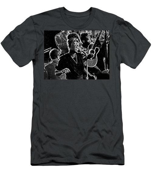Billie Holiday Men's T-Shirt (Slim Fit)