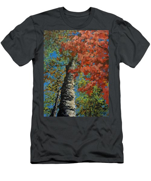 Birch Tree - Minister's Island Men's T-Shirt (Athletic Fit)
