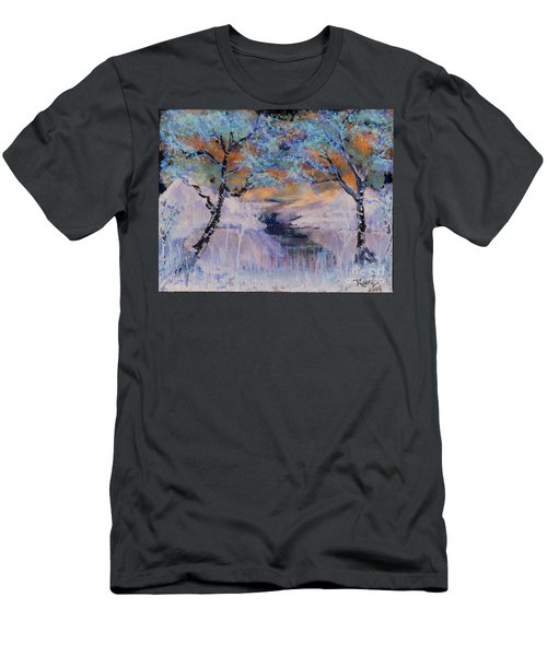 Birch Trees On The Ridge 2 Men's T-Shirt (Athletic Fit)