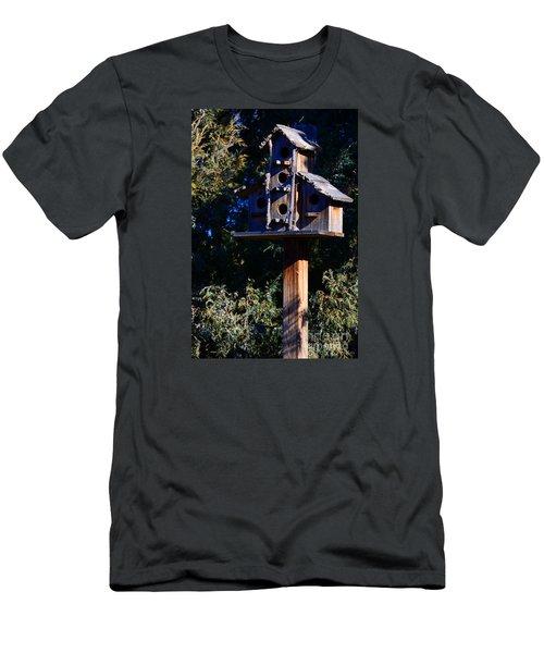 Bird Condos Men's T-Shirt (Slim Fit) by Robert WK Clark