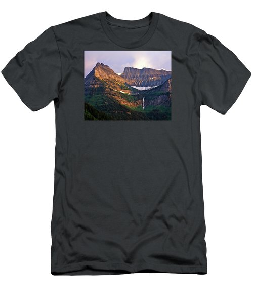 Bird Woman Falls Sunset Men's T-Shirt (Athletic Fit)