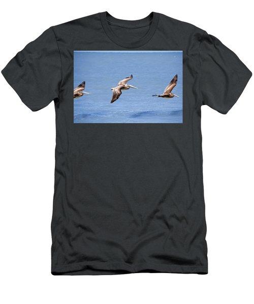 Birds 1039 Men's T-Shirt (Athletic Fit)