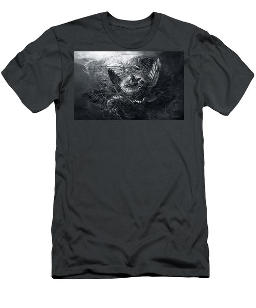 Birth Of Pegasus Men's T-Shirt (Athletic Fit)