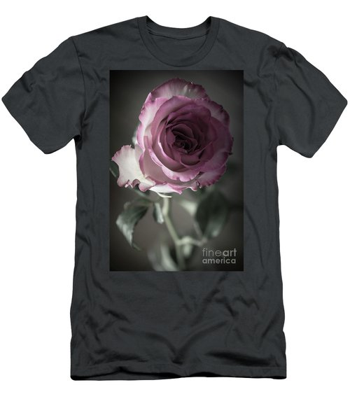 Birthday Rose Men's T-Shirt (Athletic Fit)