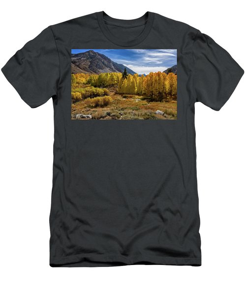 Men's T-Shirt (Athletic Fit) featuring the photograph Bishop Creek Aspen by John Hight