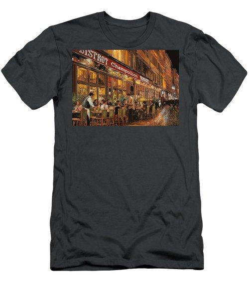 Bistrot Champollion Men's T-Shirt (Athletic Fit)