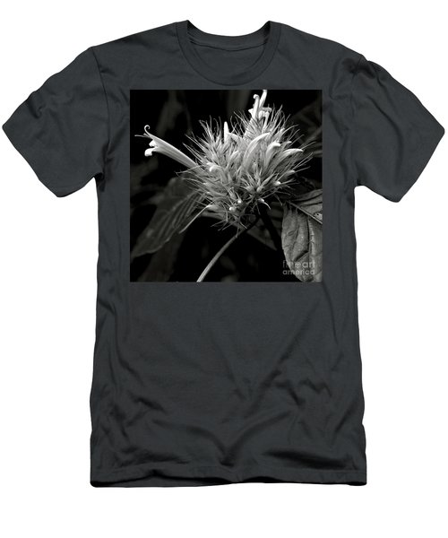 Men's T-Shirt (Athletic Fit) featuring the photograph Bizarre Flower Charm by Silva Wischeropp