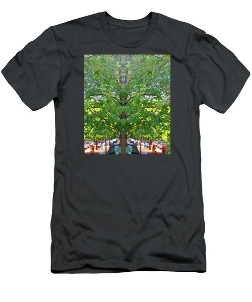 Bizarre Fun Tree Men's T-Shirt (Athletic Fit)