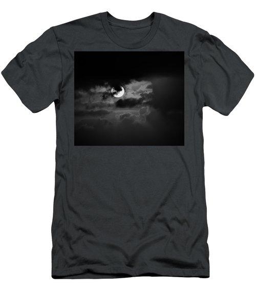 Black And Grey Men's T-Shirt (Slim Fit) by John Glass