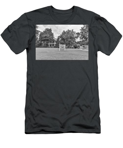 Black And White 58 Men's T-Shirt (Athletic Fit)