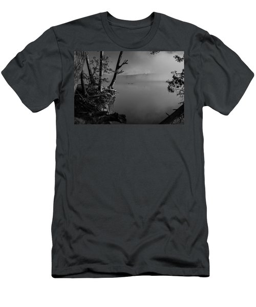 Black And White Morning Men's T-Shirt (Athletic Fit)