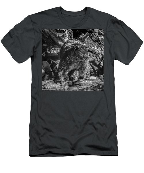 Black Bear Creekside Men's T-Shirt (Athletic Fit)
