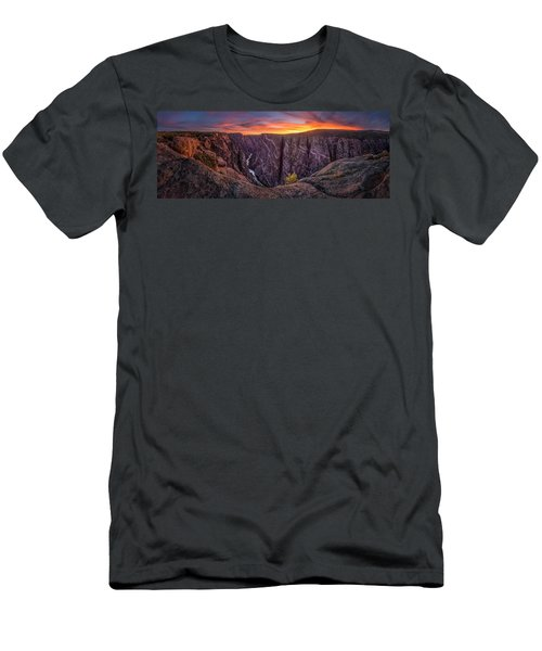 Black Canyon Of The Gunnison Men's T-Shirt (Athletic Fit)