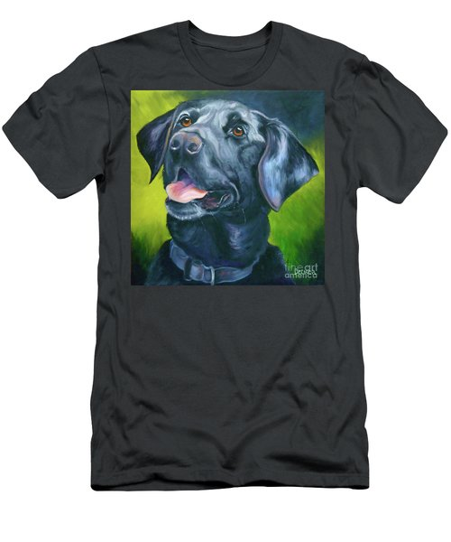 Black Lab Forever Men's T-Shirt (Athletic Fit)