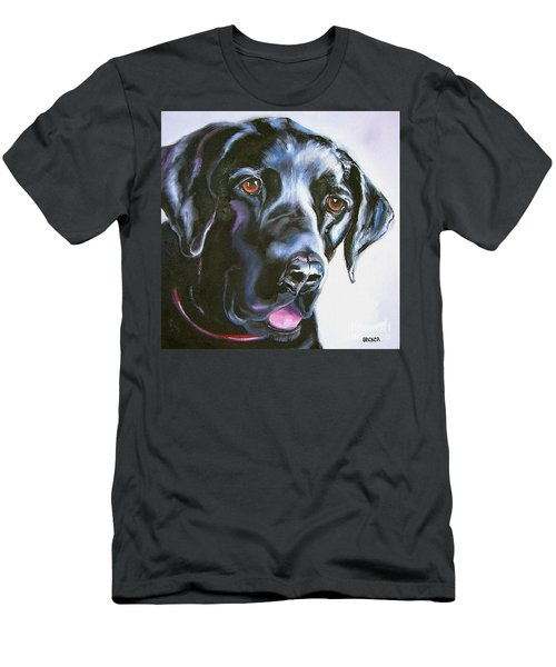 Black Lab No Ordinary Love Men's T-Shirt (Athletic Fit)
