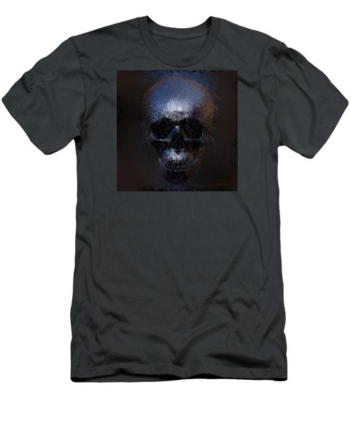 Black Skull Men's T-Shirt (Athletic Fit)