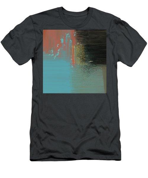 Black Splash Men's T-Shirt (Athletic Fit)