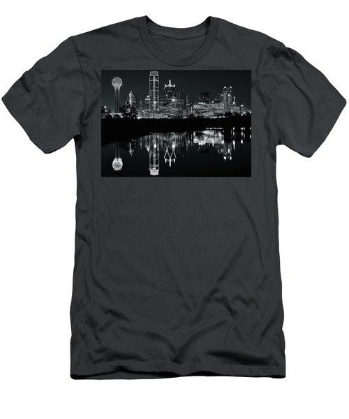 Blackest Night In Big D Men's T-Shirt (Athletic Fit)