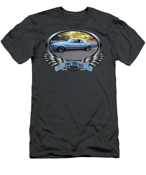 Blaser 1967 Olds 442 Men's T-Shirt (Athletic Fit)