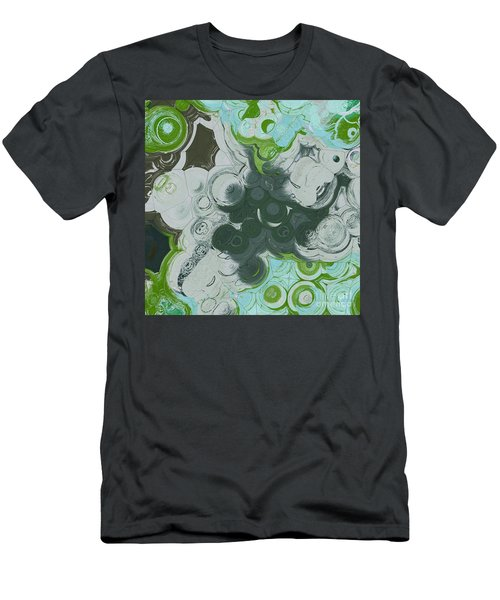 Men's T-Shirt (Slim Fit) featuring the digital art Blobs - 13c9b by Variance Collections
