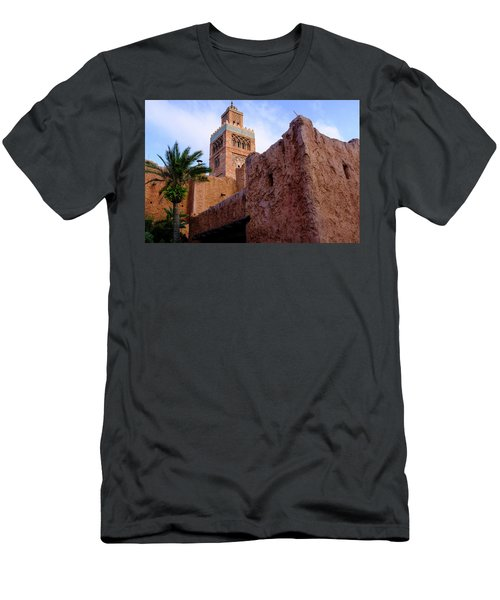 Blocks And High Tower Architecture From Orlando Florida Men's T-Shirt (Athletic Fit)