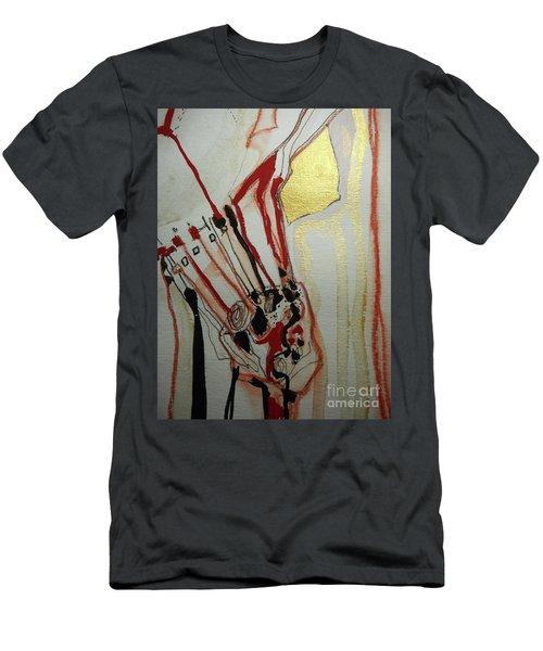 Blood Flowers Men's T-Shirt (Athletic Fit)