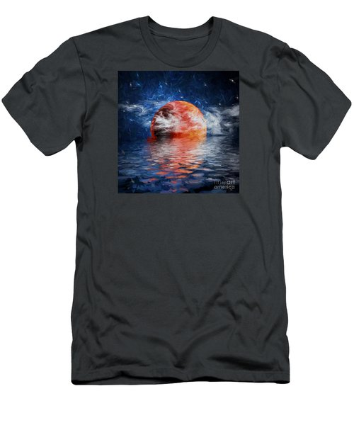 Blood Moon A Rising Men's T-Shirt (Slim Fit) by Jim  Hatch