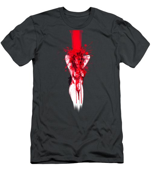 Blood Shower Men's T-Shirt (Athletic Fit)