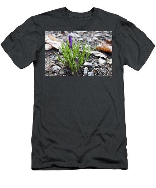 Bloom Awaits Men's T-Shirt (Slim Fit) by Jeff Severson