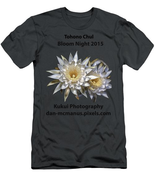 Men's T-Shirt (Slim Fit) featuring the photograph Bloom Night T Shirt by Dan McManus