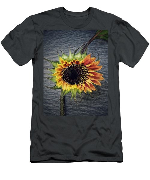 Men's T-Shirt (Slim Fit) featuring the photograph Blooming by Karen Stahlros
