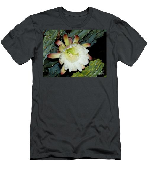 Blooming Night Cereus Men's T-Shirt (Athletic Fit)