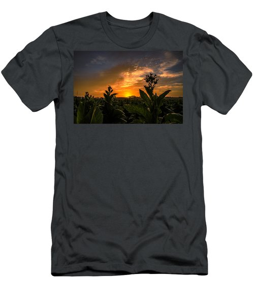 Blooming Tobacco Men's T-Shirt (Athletic Fit)
