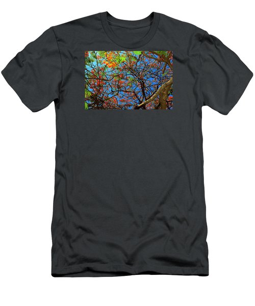 Blooming Tree Men's T-Shirt (Athletic Fit)