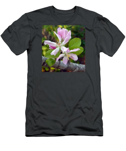 Blossom Duet Men's T-Shirt (Slim Fit) by Carla Parris